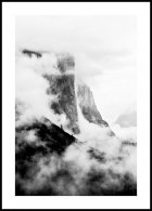 Yosemite Clouds Poster