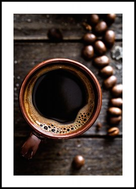 Freshly Brewed Coffee Poster