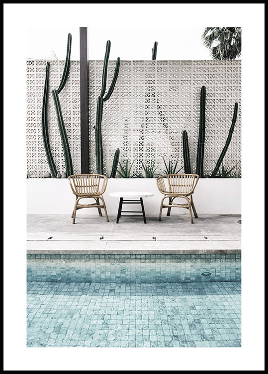 By the Pool Poster