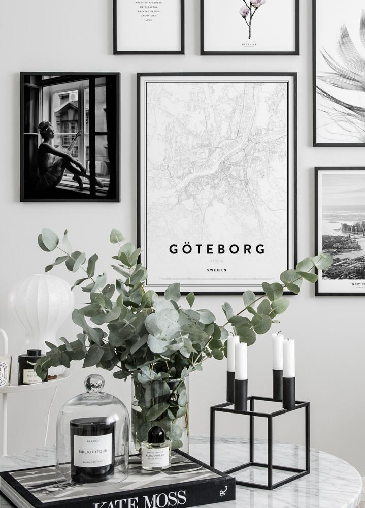 Map of Gothenburg Poster